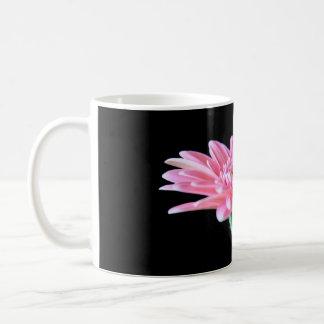 Pink Gerbera Basic White Mug