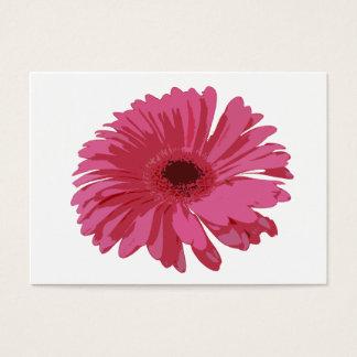 Pink Gerbera CO ACEO Business Card