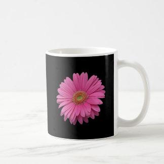 Pink Gerbera Daisy Basic White Mug