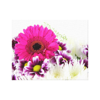 Pink Gerbera Daisy Gallery Wrap Canvas