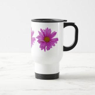 Pink Gerbera Daisy Customizable Travel Mug