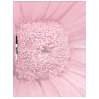 Pink Gerbera Daisy Dry Erase Board