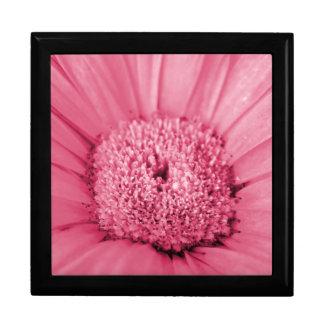 Pink Gerbera Daisy Large Square Gift Box