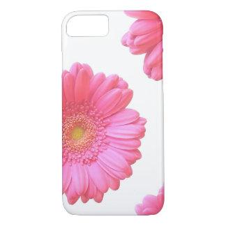 Pink gerbera daisy iPhone 7 case