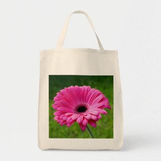 Pink Gerbera Daisy Tote Bag