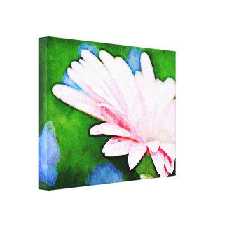 Pink Gerbera Floral Art Canvas Prints