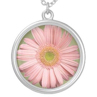 Pink Gerbera Necklace