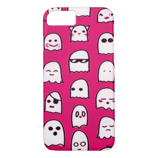 Pink Ghost Party Airbrush Art Custom iPhone iPhone 7 Case