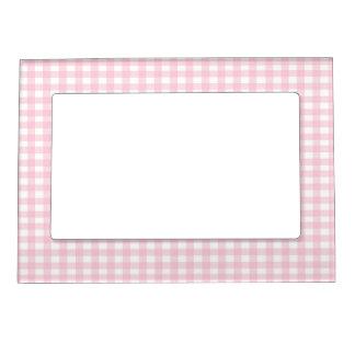 Pink Gingham Magnetic Frame