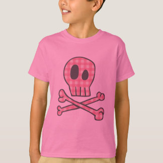 Pink Gingham Pirate T-Shirt
