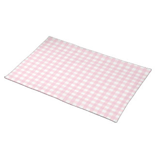 Pink Gingham Placemat