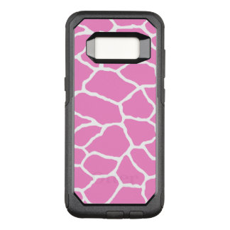 Pink Giraffe OtterBox Galaxy S8 Case