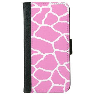Pink Giraffe Print iPhone 6/6s Wallet Case iPhone 6 Wallet Case