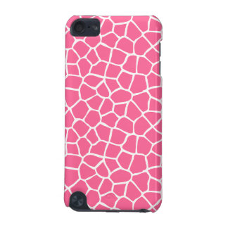 Pink Giraffe Print iPod Touch iPod Touch (5th Generation) Cover