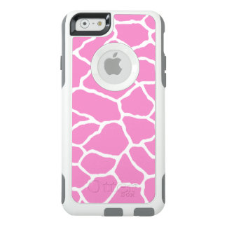 Pink Giraffe Print OtterBox iPhone 6/6s Case