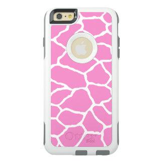 Pink Giraffe Print OtterBox iPhone 6/6s Plus Case