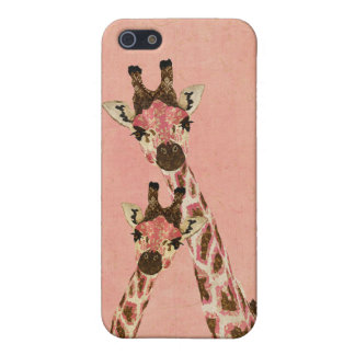 Pink Giraffes iPhone Case iPhone 5 Covers