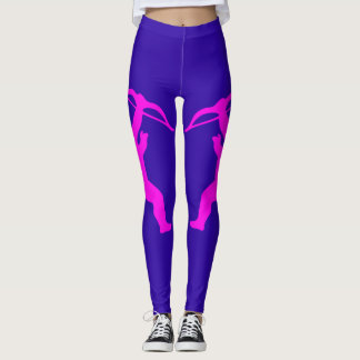 Pink Girl Angels Leggings