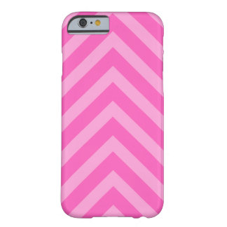 Pink girly chevron pattern arrows iPhone 6 case Barely There iPhone 6 Case