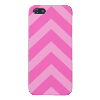 Pink girly chevron zigzag pattern iPhone case iPhone 5/5S Cover