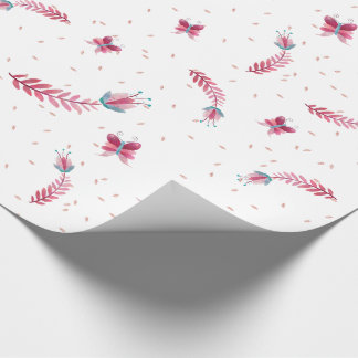 PInk girly design for kids Wrapping Paper