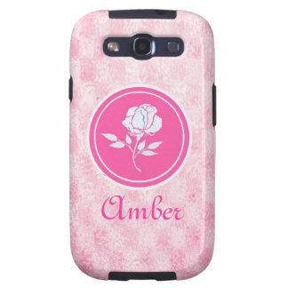 Pink Girly Samsung Galaxy Case Samsung Galaxy SIII Covers