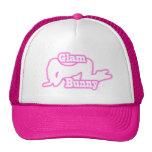Pink Glam Bunny crawl Trucker Hat