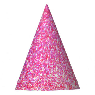 Pink Glamour Sparkley Party Hat