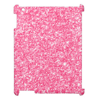 Pink glitter and sparkles cover for the iPad 2 3 4