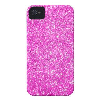 Pink Glitter iPhone 4 Case-Mate Cases