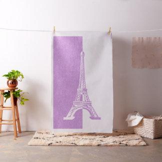 Pink Glitter Eiffel Tower | Girly Gifts Fabric
