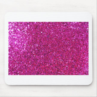 Pink Glitter Mouse Pad