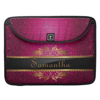 Pink Glitter Sequin MacBook Sleeve Computer Case