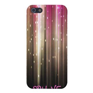 Pink glitter shine iPhone 5 case