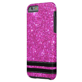 Pink Glitter Sparkly Sparkle Girly CricketDiane Tough iPhone 6 Case