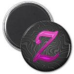 Pink Glittery Initial - Z