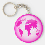 Pink Glossy Globe