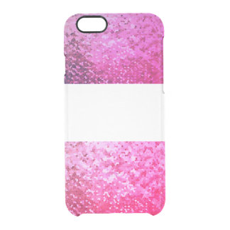 Pink glow Iphone marries Clear iPhone 6/6S Case