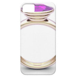 Pink gold ring iPhone 5 cover