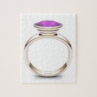 Pink gold ring jigsaw puzzle
