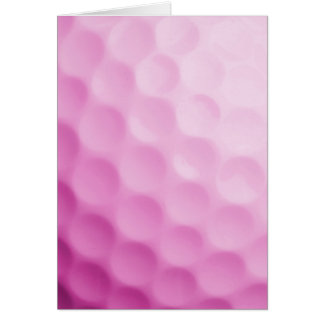 Pink Golf Ball Background Golfing Sports Template