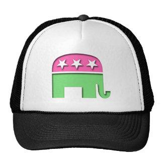 Pink GOP Elephant Hat