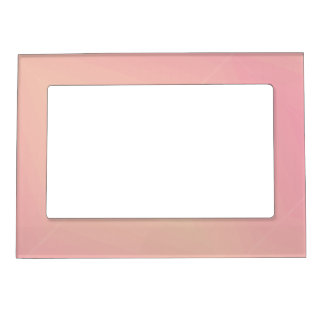 Pink Gradient Textured Magnetic Picture Frame