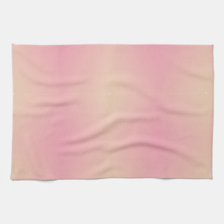 Pink Gradient Textured Tea Towel
