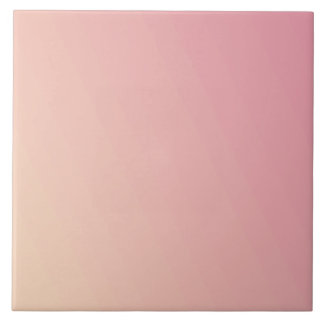 Pink Gradient Textured Tile