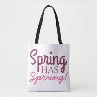 Pink Gradient Tote Bag - Spring Has Sprung!