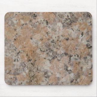 Pink Granite Mouse Pad