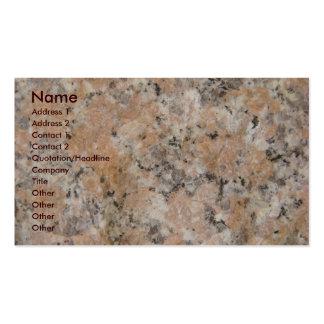 Pink Granite Pack Of Standard Business Cards