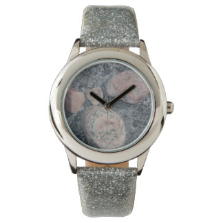 pink granite watch