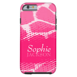 Pink graphic animal iPhone 6 case Tough iPhone 6 Case